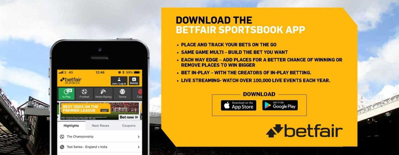 Betfair sportsbook app download