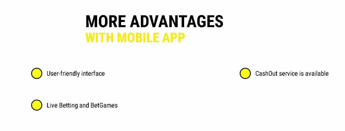 Parimatch mobile app benefits