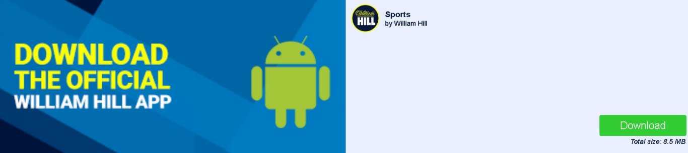 William Hill Android app