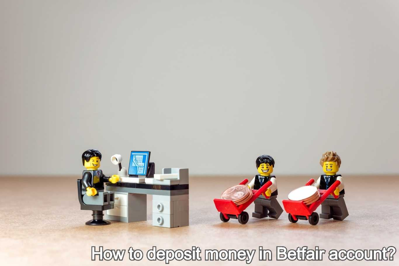 How to deposit money in Betfair account?